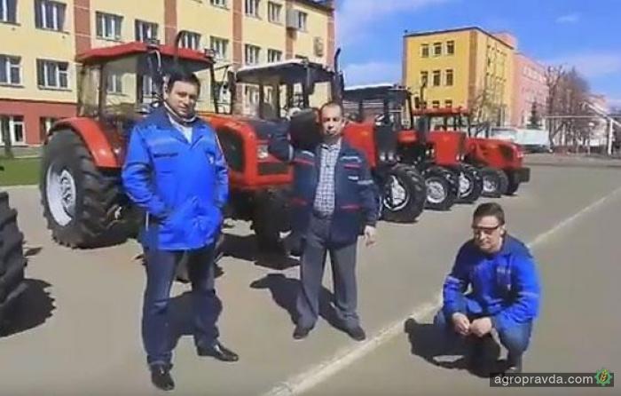 Работники МТЗ сняли пародию на песню «Тает лед»
