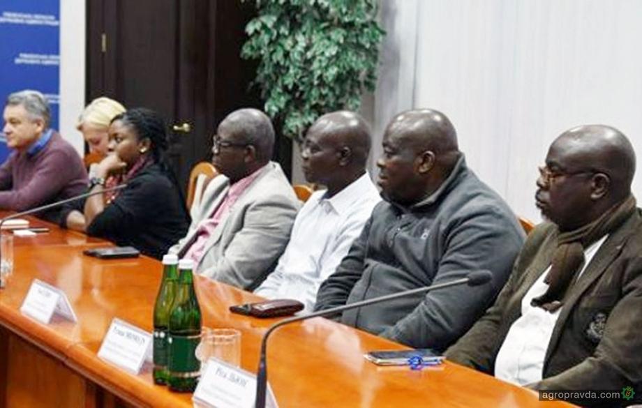 Нигерийцы хотят развивать в Украине сельское хозяйство