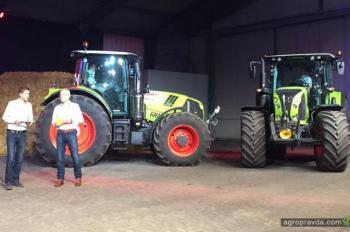 Появились первые фото обновленных серий тракторов Claas