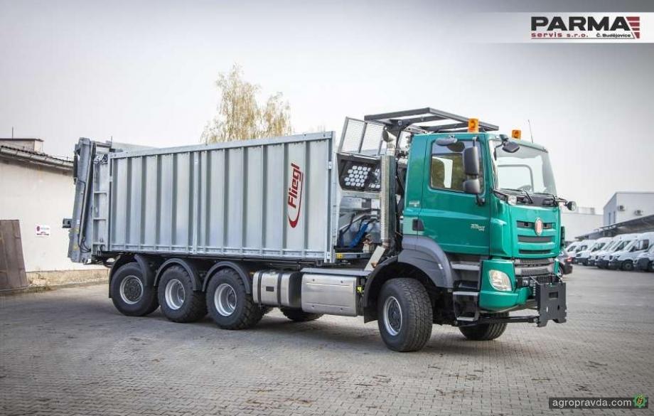 TATRA выпустила новый грузовик для аграриев