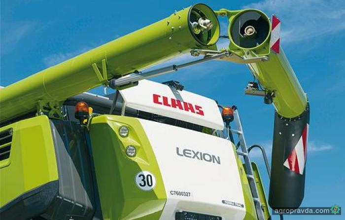 К сезону 2017 г. Claas обновил комбайны Lexion