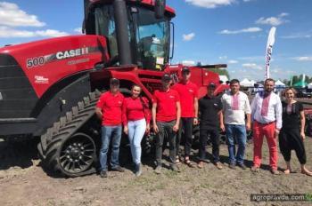 На Дне агротехнологий представили технику Case IH. Фото