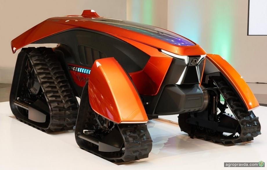 Kubota представила концептуальный трактор будущего