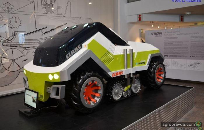 Трактор будущего. Видео