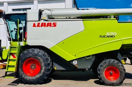 Claas развивает в Украине направление техники с наработкой