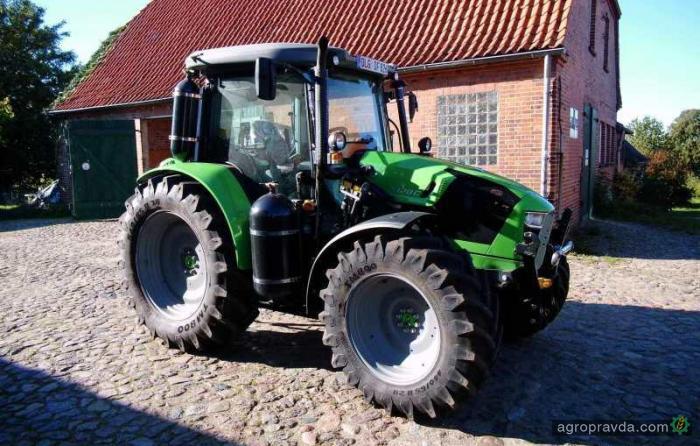 Deutz-Fahr продолжает работать над газовым трактором