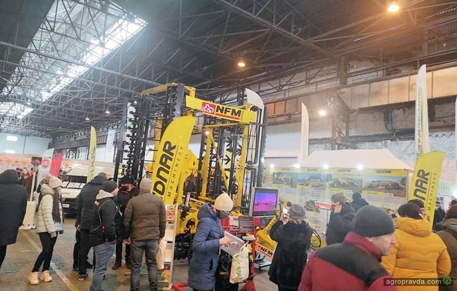 Техніку Веdnar демонструють на виставці «Агропром 2021»