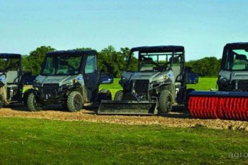 Polaris представил линейку сельскохозяйственных квадроциклов