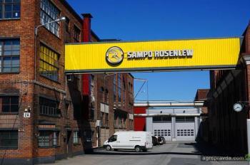 Как делают комбайны Sampo Rosenlew. Репортаж с завода