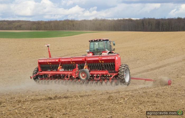 В Полтавской области засеяли яровыми почти 0,5 млн га