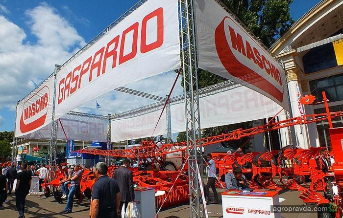 Maschio-Gaspardo представил в Украине абсолютно новый плуг