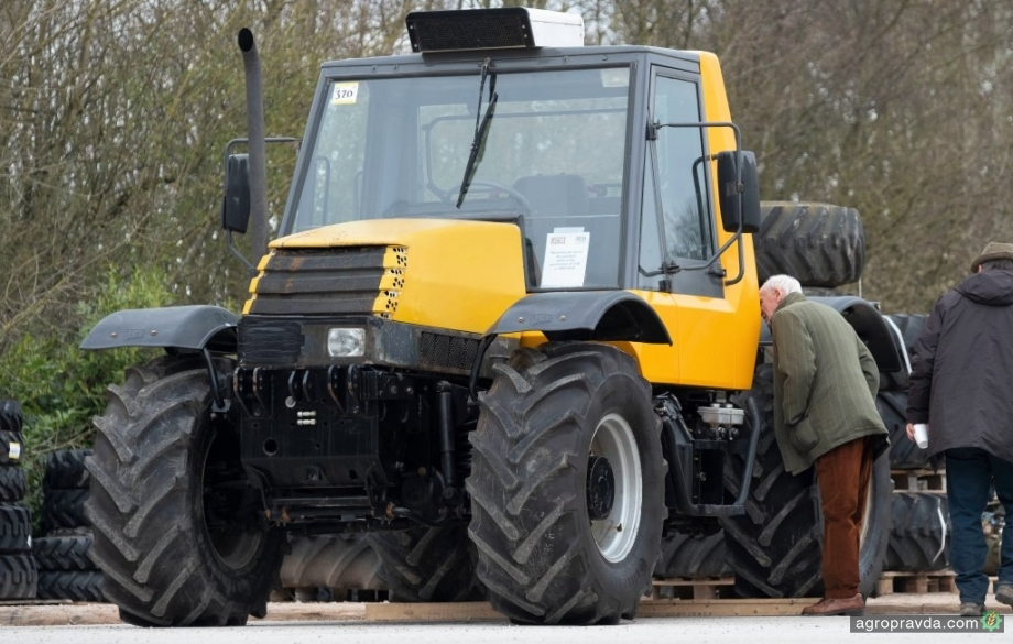Продан прототип «скоростного» трактора Fastrac