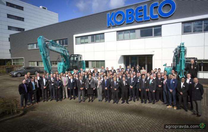 Kobelco вернулся в Европу