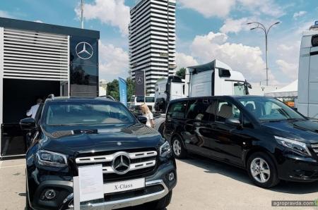 Mercedes-Benz представил новые решения для аграриев