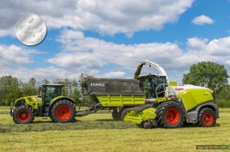 Инновационные разработки Claas получили три медали Agritechnica 2019