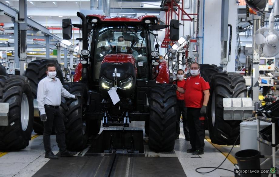 Завод тракторов Case IH получил престижную награду