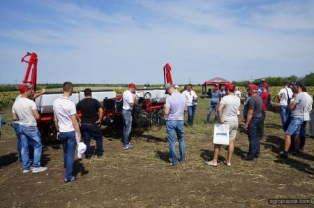 В рамках Massey Ferguson Crop Tour подвели итоги посева подсолнуха