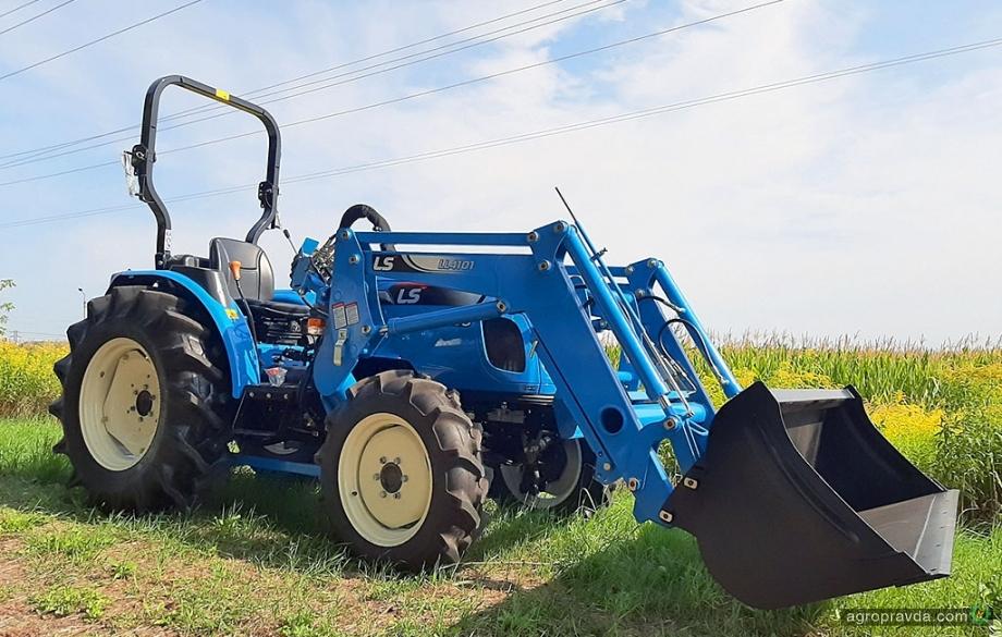В Украине появится новая модель корейского трактора
