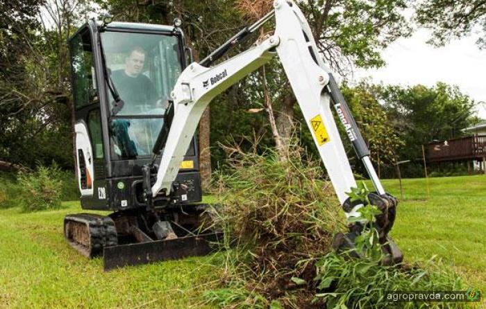 Bobcat представил агроэкскаватор