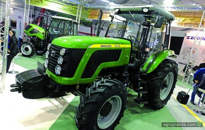 Chery представил трактор для Европы