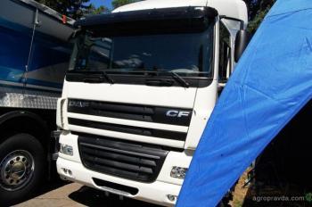 Новая спецверсия тягача DAF будет вывозить урожай с украинских полей