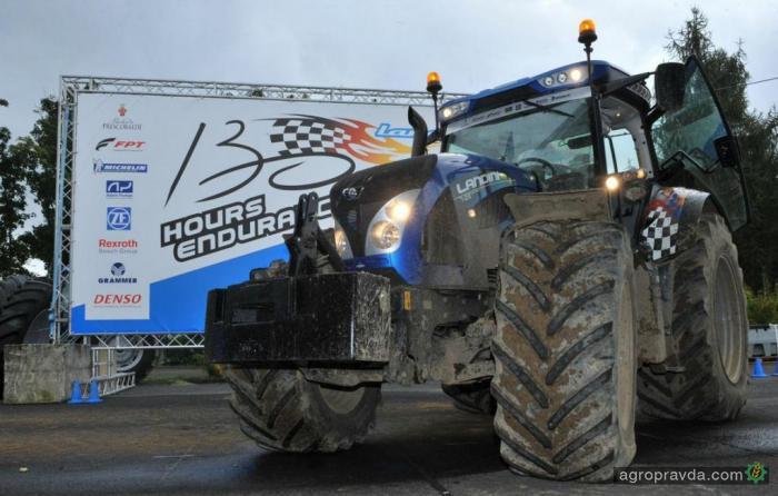 Трактор Landini побеждает в ралли