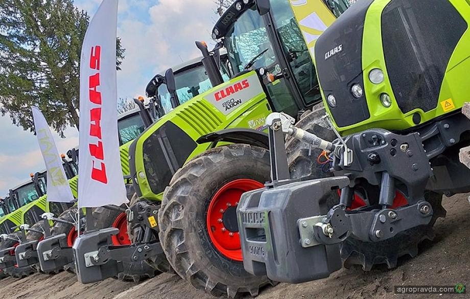 Передача крупной партии тракторов Claas в Украине. Видео