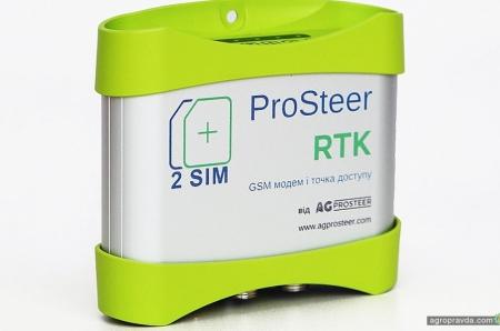 AG Prosteer: точность RTK в каждое хозяйство