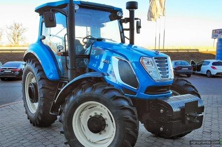 В Украине появилась лимитированная серия тракторов LS