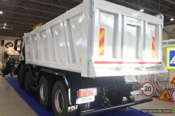 В Украине представили самосвал IVECO Trakker с кузовом GERVASI
