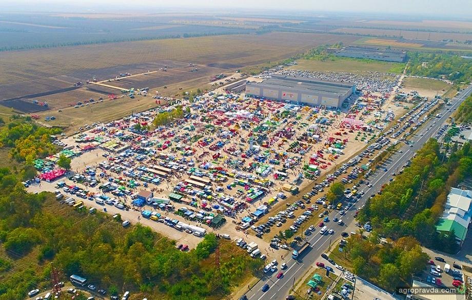 В Украине стартовала выставка сельхозтехники АгроЭкспо-2019