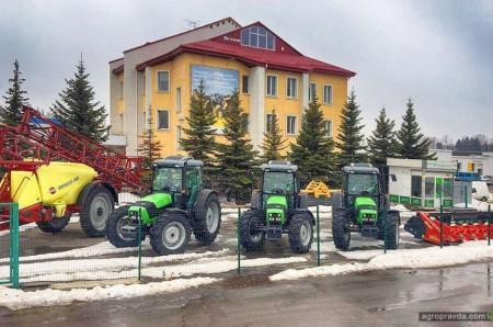В Украину пришла новая партия тракторов Deutz-Fahr Agrofarm