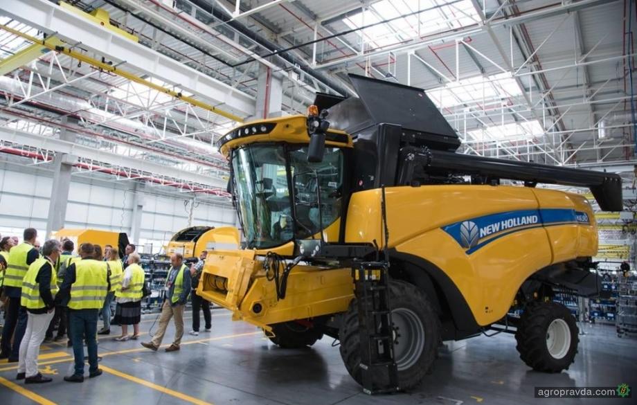New Holland возобновил производство сельхозтехники на польских заводах