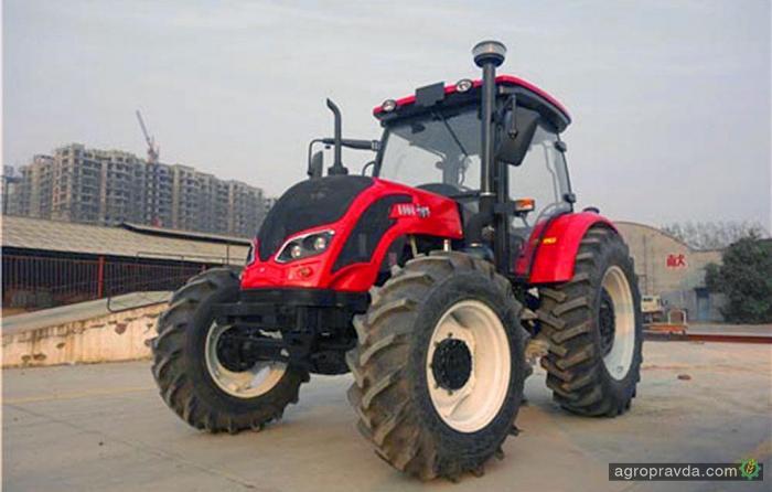 Китайские тракторы-клоны пытаются продавать в Европе