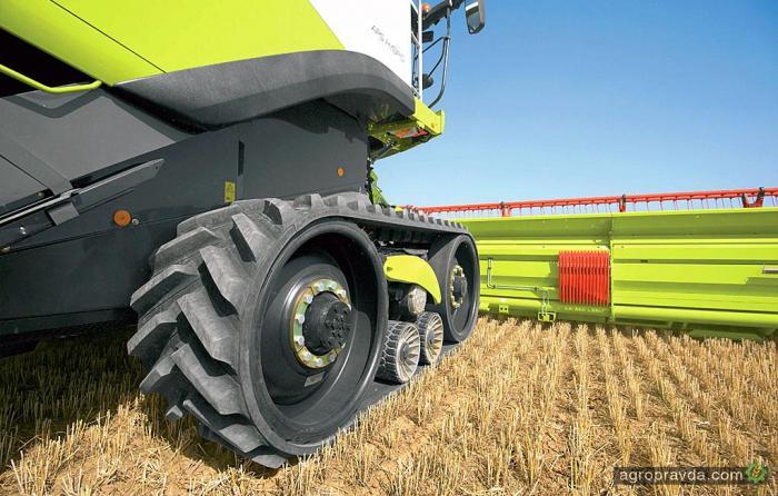 Украина обеспечена зерноуборочными комбайнами на две трети от потребности
