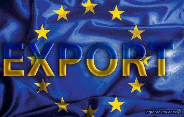 Экспорт агропродукции в ЕС вырос на 30%