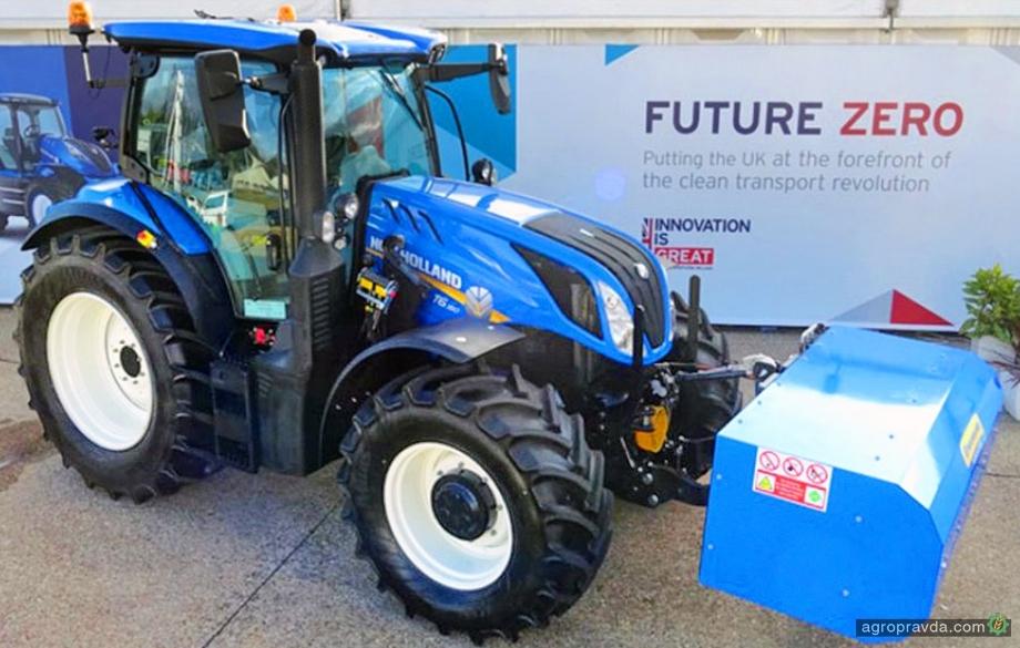 New Holland готовит серийную версию метанового трактора
