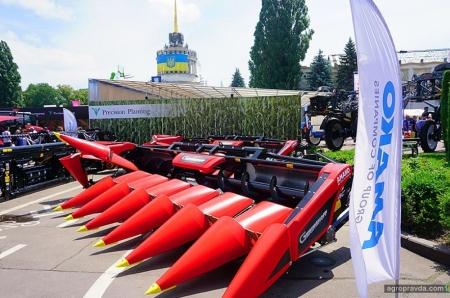 В Украине появились инновационные гибкие жатки