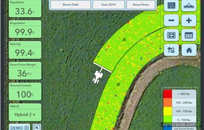 John Deere покупает подразделение Monsanto