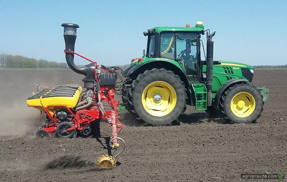 Аграрии завершают посев ранних ярых зерновых