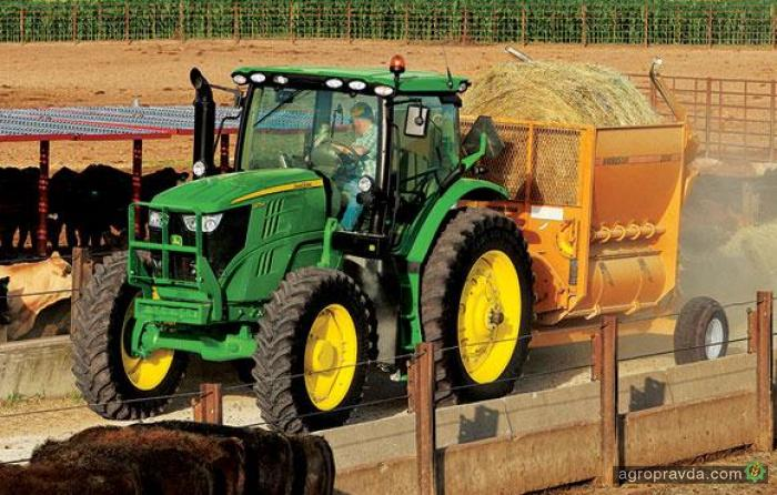 John Deere представил новые тракторы 6R