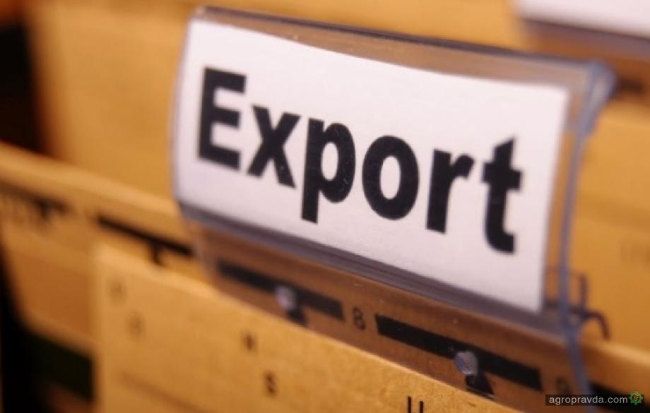 Экспорт зерна за месяц превысил 3,7 млн. тонн