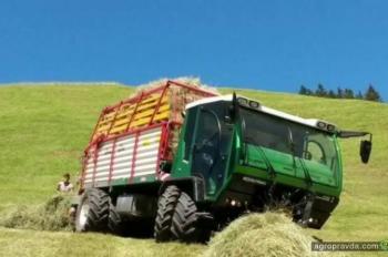 Разработан новый самоходный агротранспортер для гор