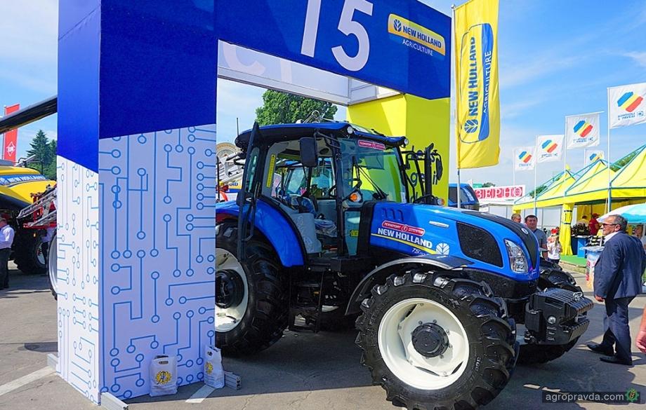 Новый 110-сильный трактор New Holland: видеообзор