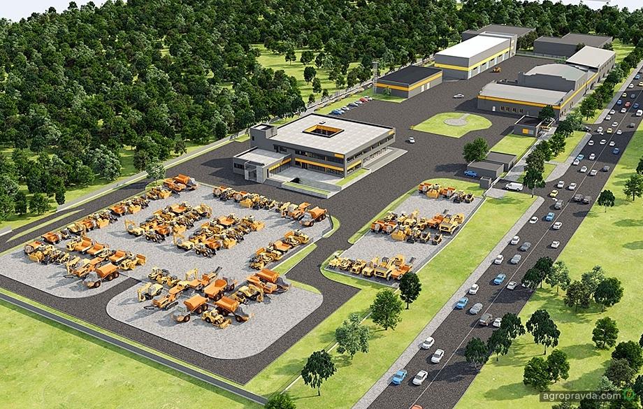 Немецкий концерн Zeppelin будує в Україні новий головний офіс