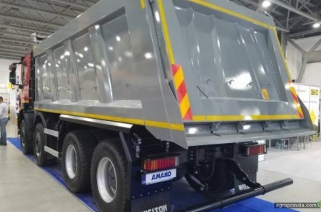 АМАКО начала предлагать строительные IVECO Trakker с 5-ю различными кузовами