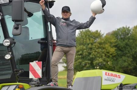 Трактор Claas Xerion покорил Северную петлю Нюрбургринга