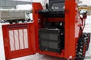 Тест-драйв мини-погрузчика WECAN SSL-800