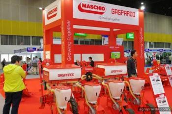 Maschio Gaspardo на выставке Agritechnica Asia. Первые фото