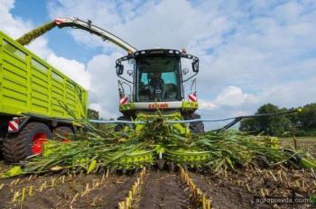 Claas обновил жатку Orbis для уборки кукурузы